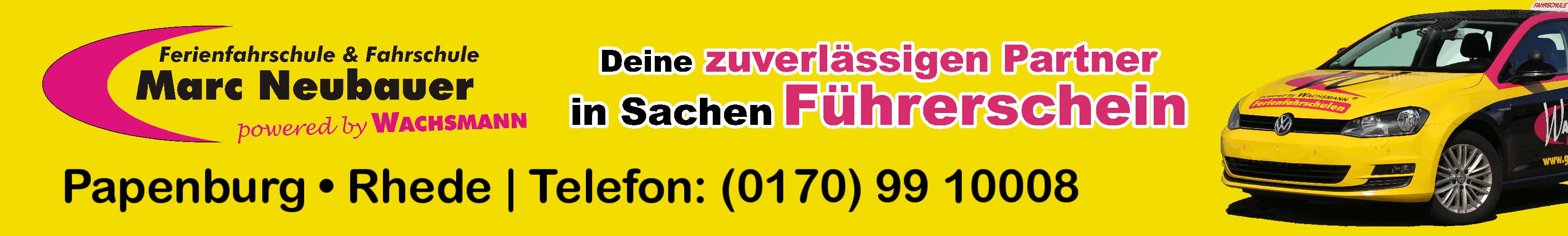 WACHSMANN Fahrschule Papenburg Marc Neubauer